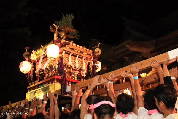 祭り神輿担ぎ
